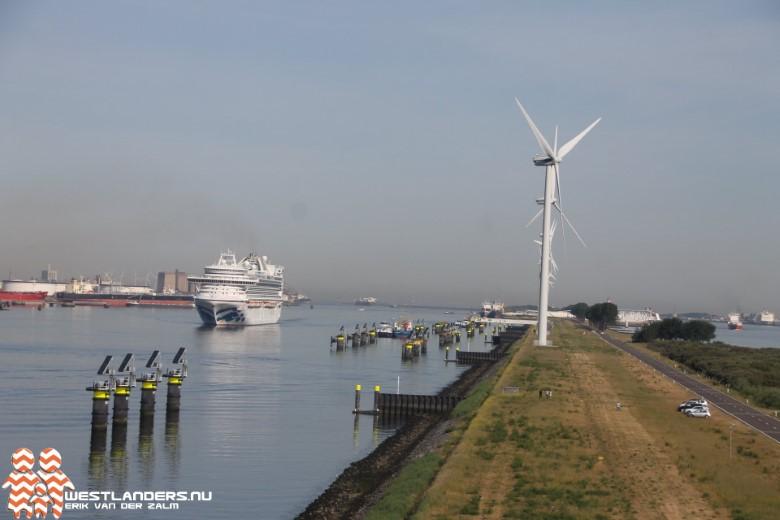 Landtong Rozenburg krijgt grotere windturbines
